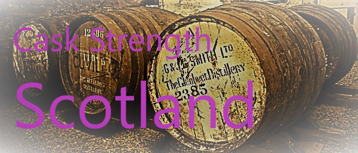 Cask Strength Scotland Barrels Purple