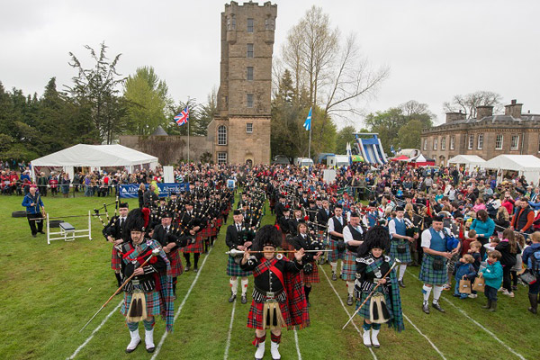 Glenlivet Hill Trek Tour Gordon Castle Country Fair and Highland Games
